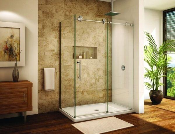 Дизайн ванной комнаты 2017-2018 современные идеи с душевой кабиной